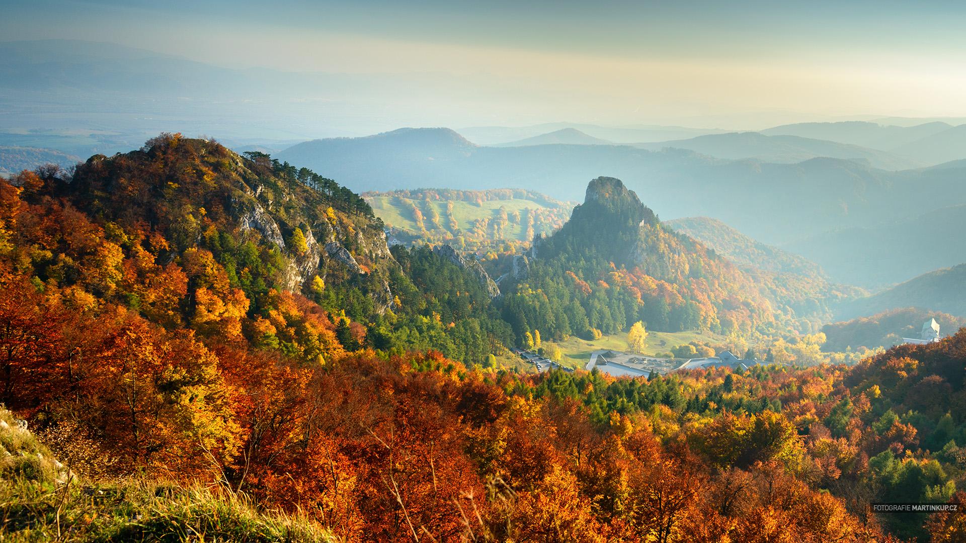 Tapeta na plochu: Vršatské bradlá, Trenčiansky kraj, Slovensko (16:9)