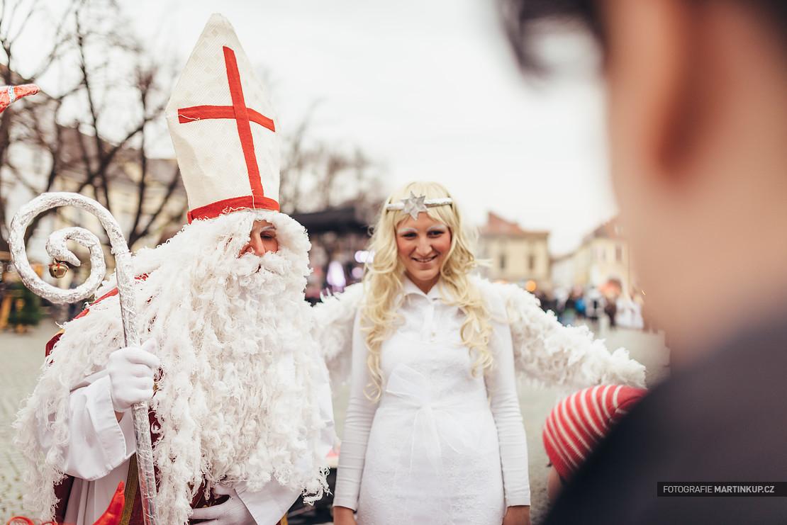 Mikulᚹ v Uherském Hradiššti, 5.12.2014